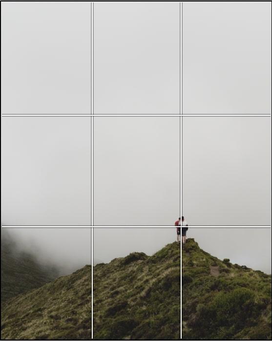 Regola dei terzi - Composizione fotografica