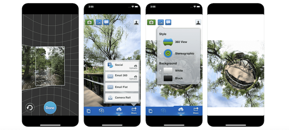 Applicazione iPhone 360 Panorama