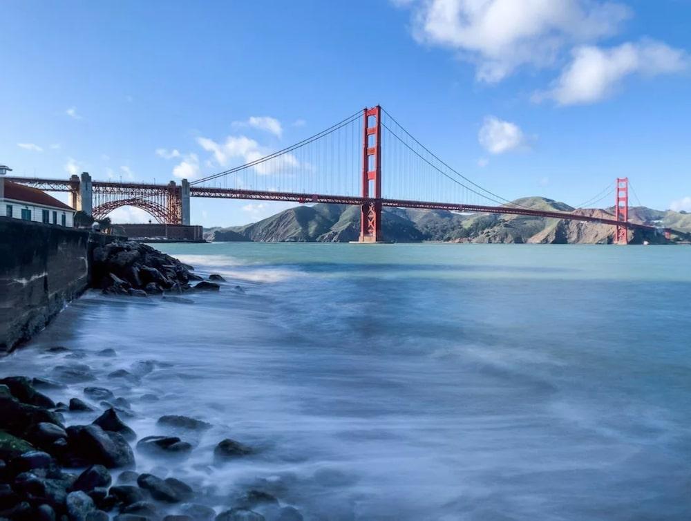 Golden Gate SF lunga esposizione