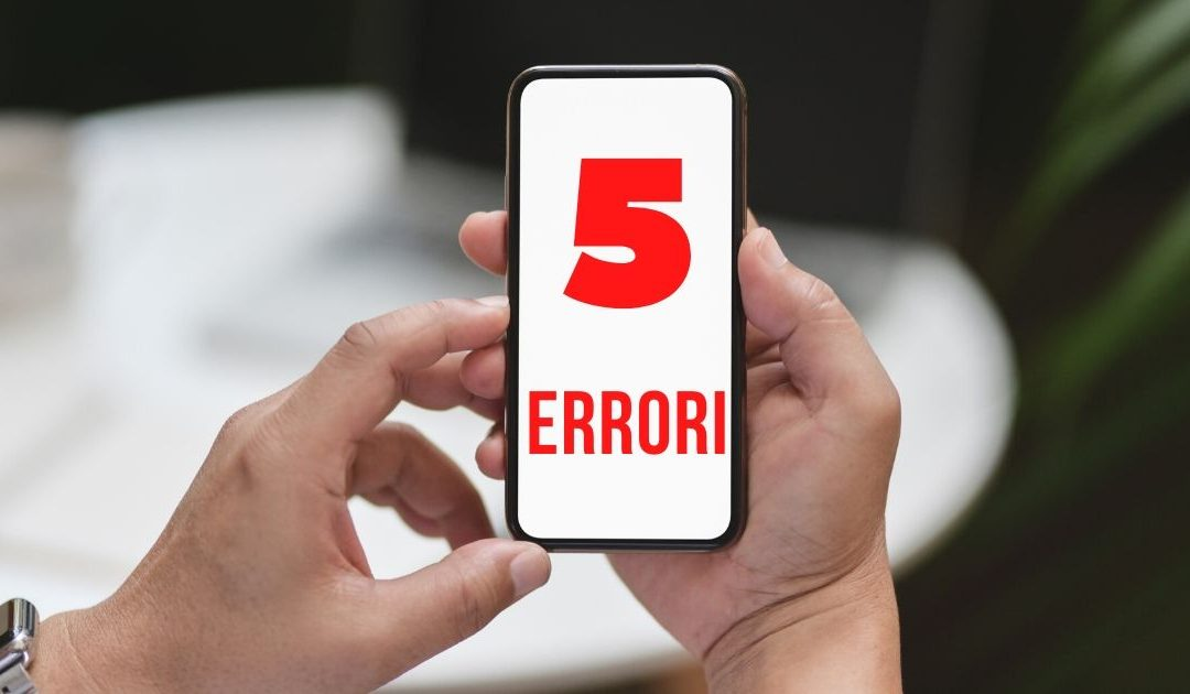 5 errori che ogni Fotografo iPhone commette e che deve evitare