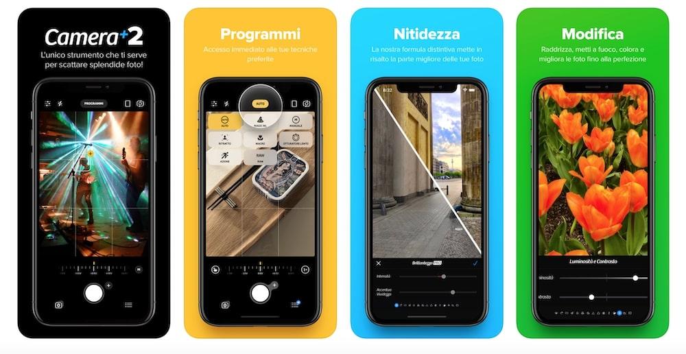 Camera+2 - App esterna impostazioni manuali fotocamera iPhone