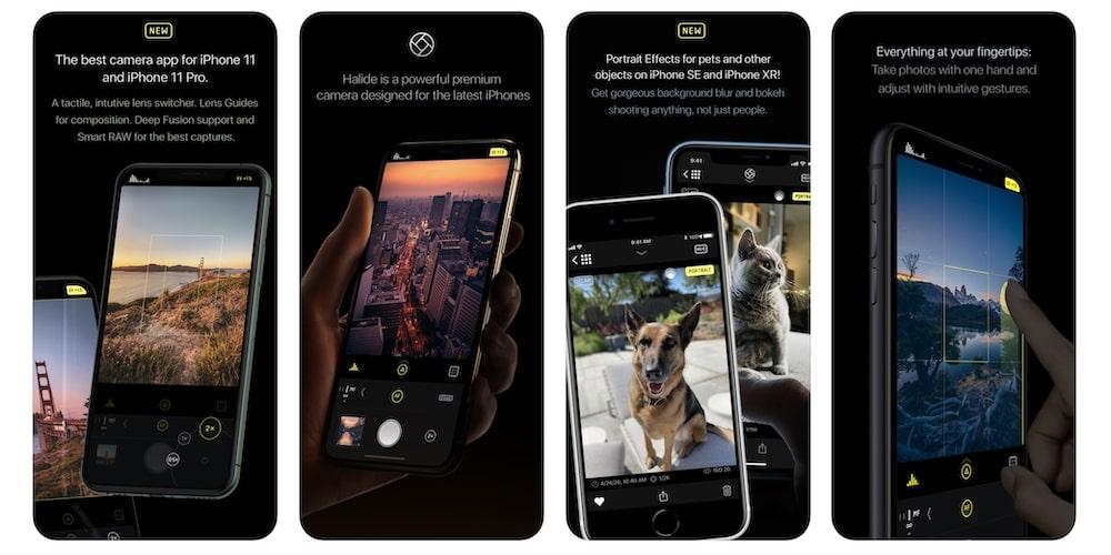 Halide - App esterna impostazioni manuali fotocamera iPhone