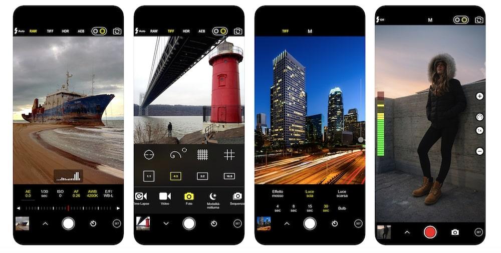 ProCam 7 - App esterna impostazioni manuali fotocamera iPhone