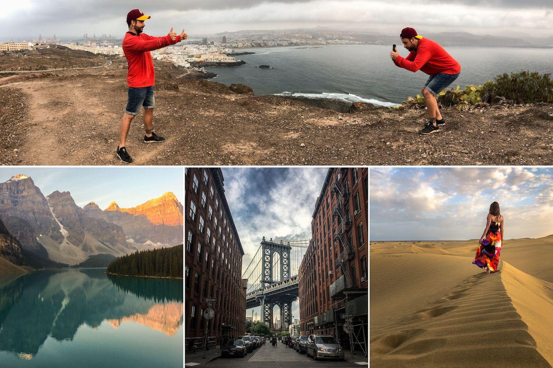 Collage Fotografare con iPhone