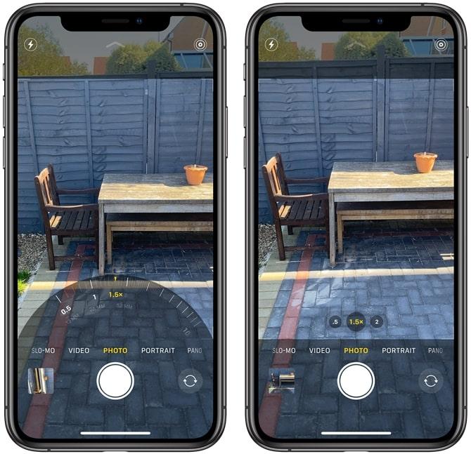 Obiettivi iPhone 11