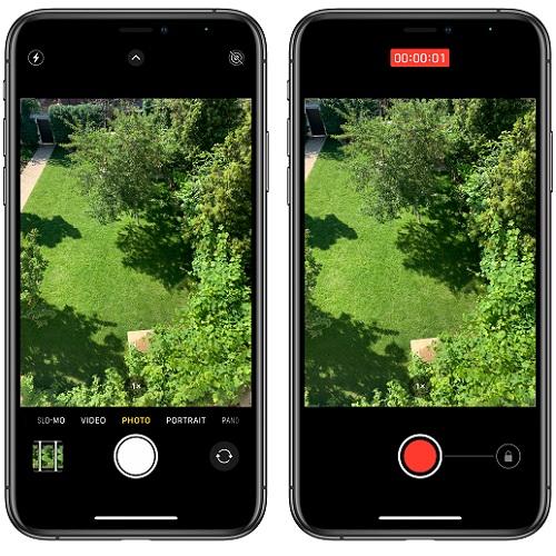 Quicktake iPhone - fotocamera ios14