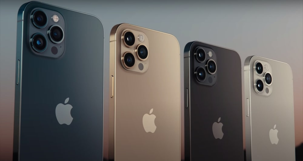 4 colori iPhone 12