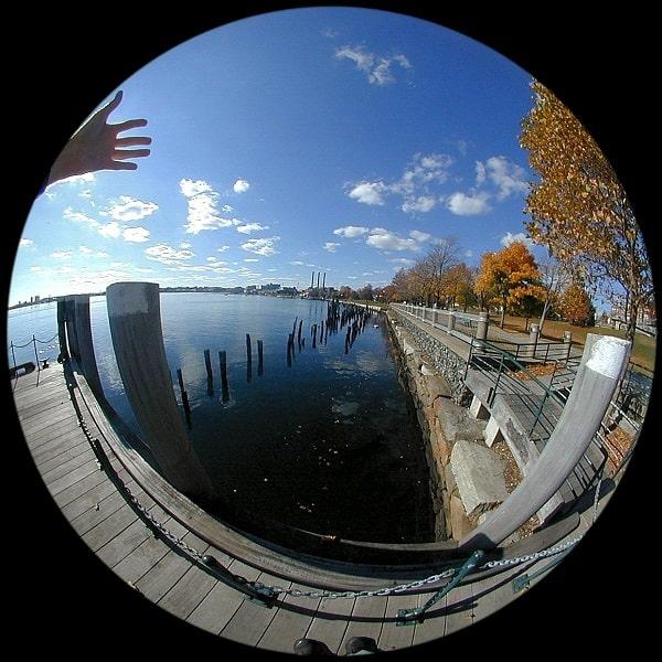 Lente fisheye - fotografia da smartphone