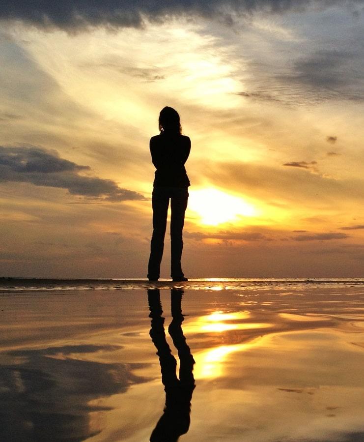 foto silhouette