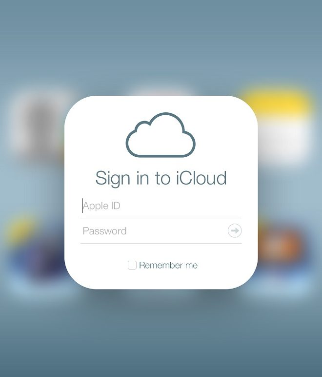 accedere a icloud