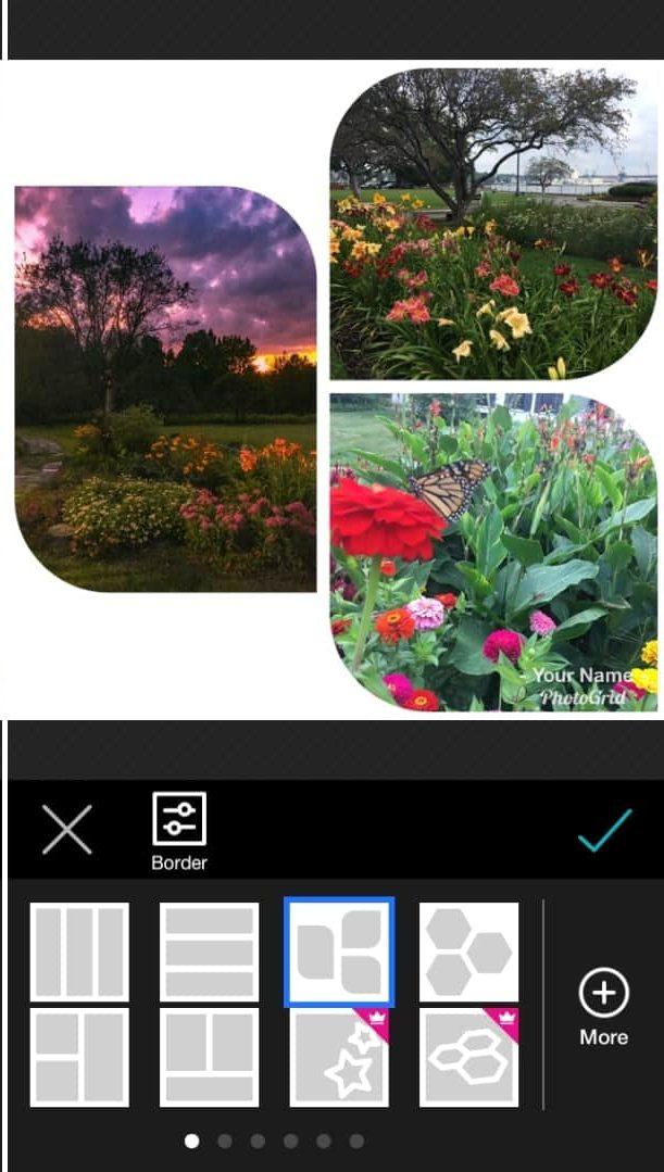 unire foto iphone photo grid