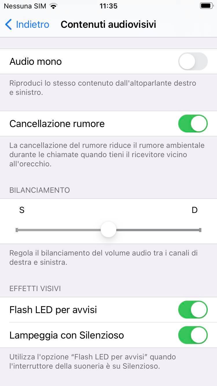 flash led notifica iphone