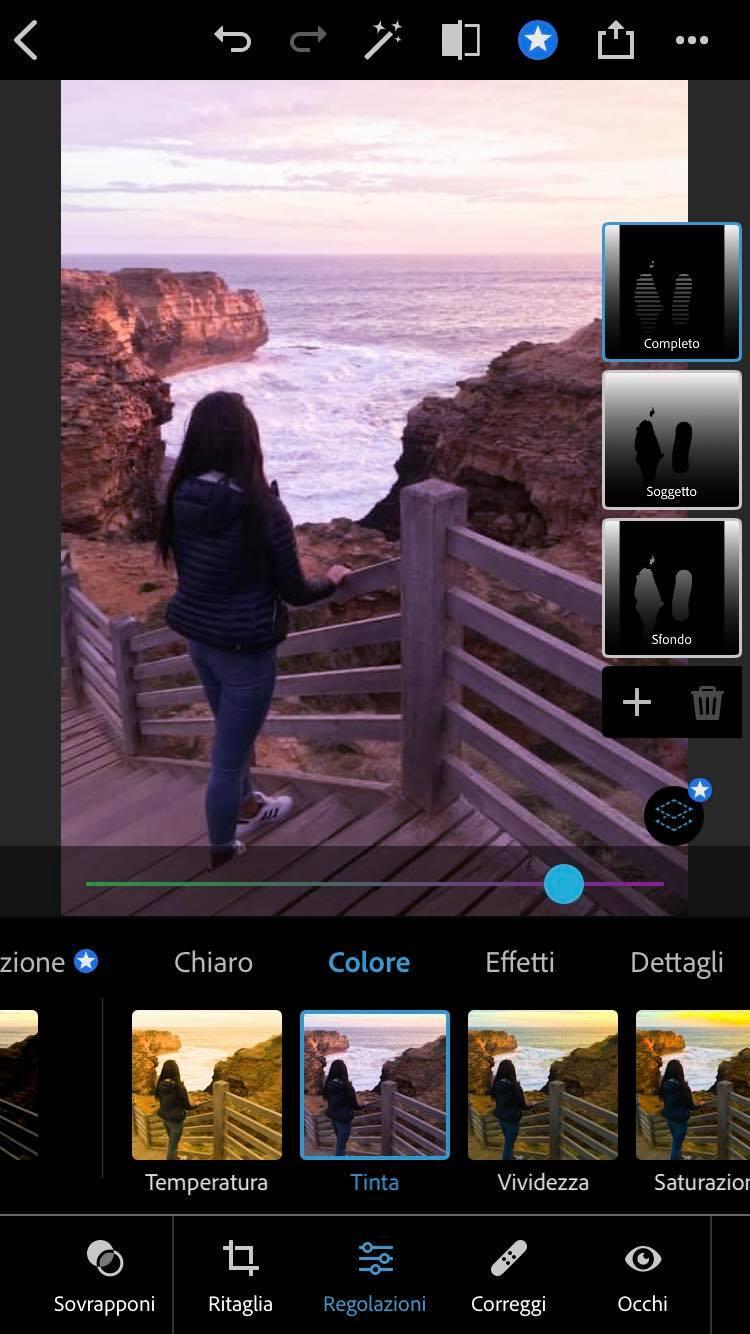 tinta photoshop iphone