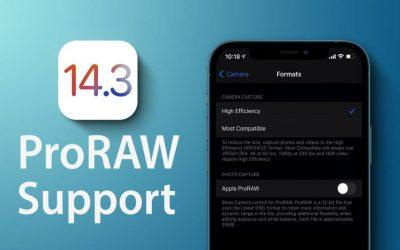 Apple ProRaw: cos'è e come funziona su iPhone (iOS 14.3)