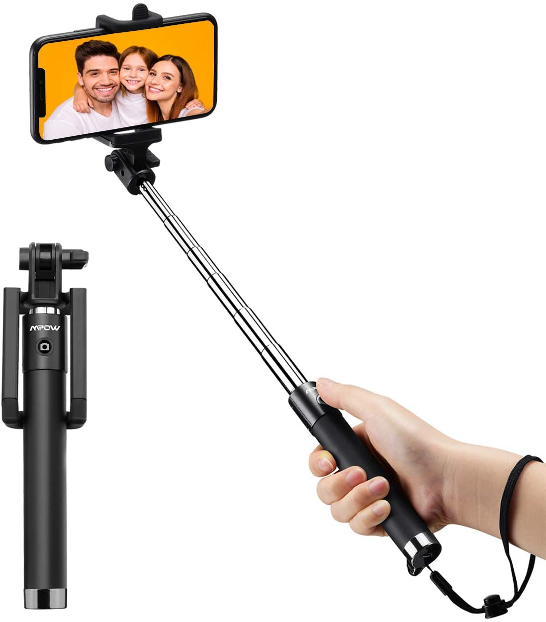 bastone selfie