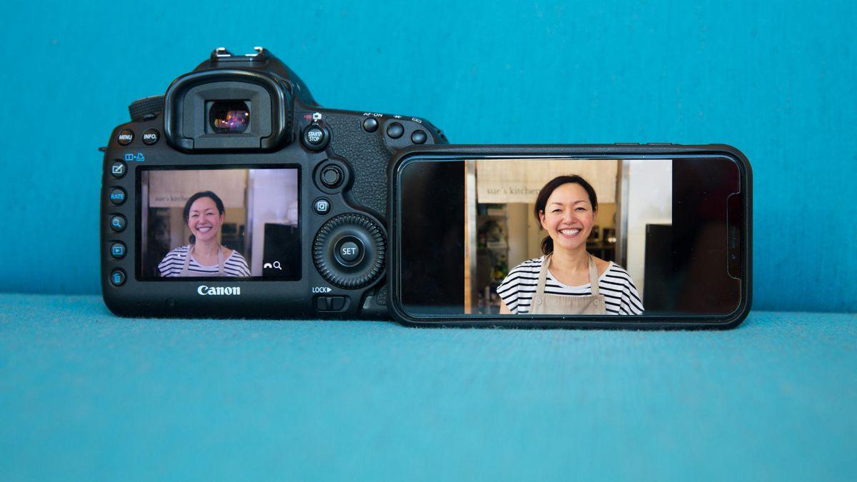 iphone vs reflex
