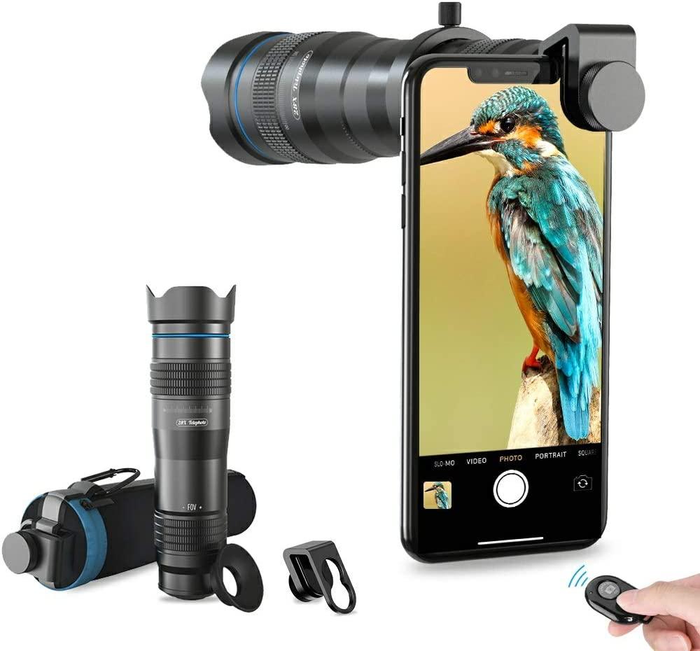 obiettivi per iphone